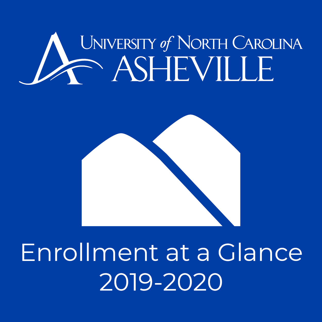 Enrollment at a Glance 2019-2020 graphic